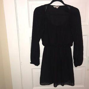 Speechless Long-Sleeve Dress